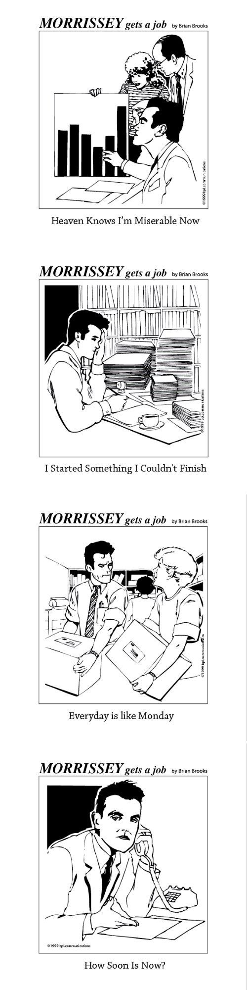 (Morrissey Gets A Job)