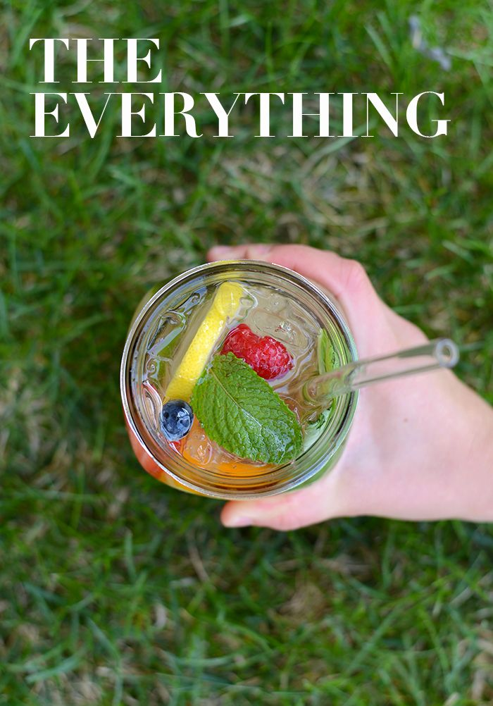 "The ""Everything"" Infused Water -Get in your daily water quota with this Fruit-Infused Water - 6 ways! From berries, to citrus, to cucumber and herbs, we've got you covered for refreshing drink recipes all summer long!"