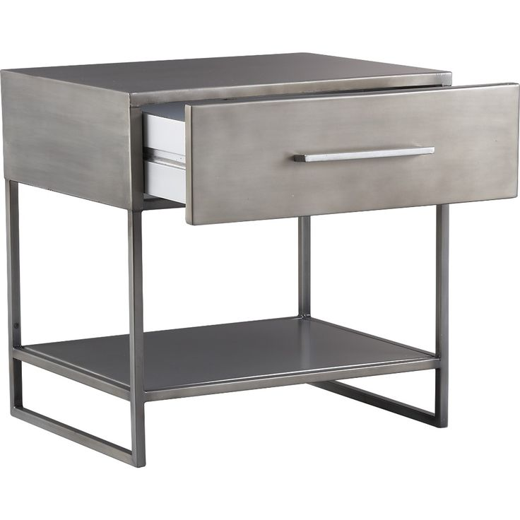 1466 best fabulous furniture images on pinterest for Metal night stands bedroom