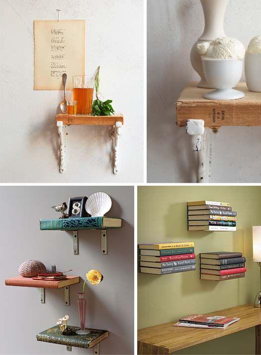 book. shelf.  book=shelf. LOVE: Ideas, Bookshelves, Books Shelves, Books Shelf, Book Shelves, Refrigerator,  Icebox, Girls Rooms, Old Books
