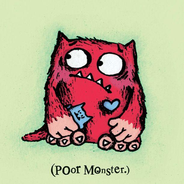 Lovemonster3 Children S Book Characters Love Monster Childrens Illustrations