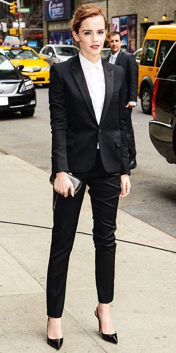 Nailed It: Emma Watson Does Menswear Like It's Her Job | People.com