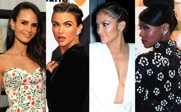 awesome Jordana Brewster, Ruby Rose, Jennifer Lopez et plus Dazzle In Butani Diamond Ear Climbers: Shop: Fashion & Style