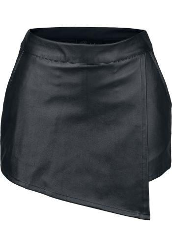 """Gonna/pantalone """"Dolores"""" del brand #Burleska in similpelle con 2 tasche laterali e tasca sul retro."""