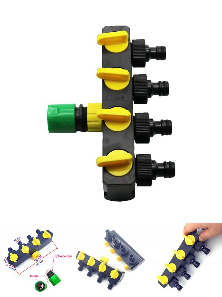 [Visit to Buy] 1pcs Shunt Converter Plus Vegetable Garden Quick Connectors Agriculture Irrigation And Industrial Water Control Valve #Advertisement