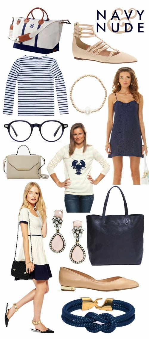 Navy and Nude… Wishlisted (The College Prepster)