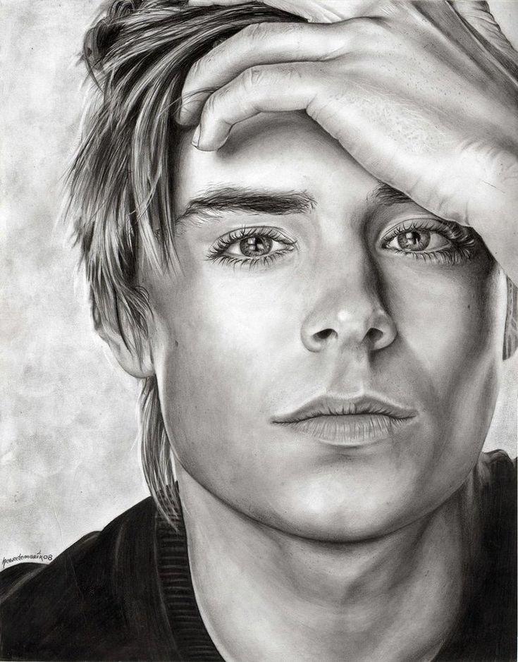 Zac Efron By Paulinamarin On Deviantart Sketches In