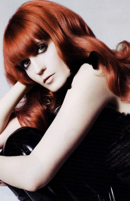 Florence Welch's hair is as incredible as her crazy style...but I might be biased, as a redhead.