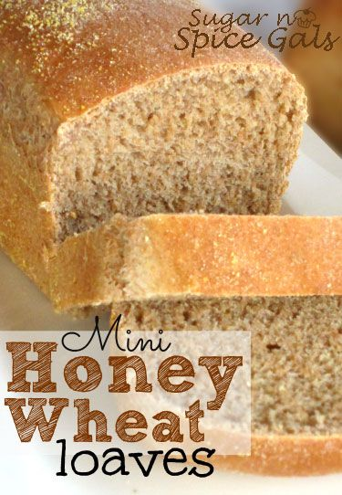 Mini Honey Wheat Loaves