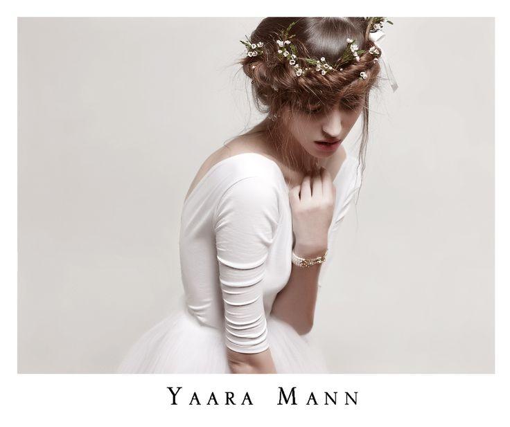 """Lys"" wedding dress from Yaara Mann's collection 2014 www.yaaramann.com"
