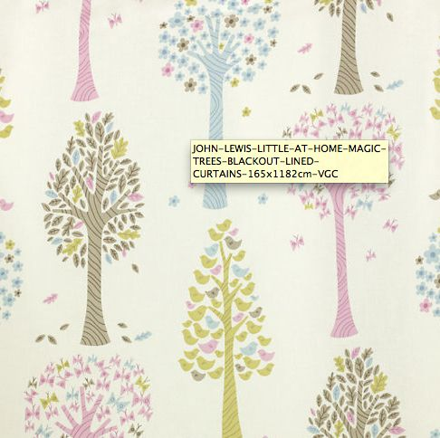 These are the nursery curtains
