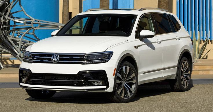 2018 VW Tiguan Gains R-Line Appearance Pack From $1,495 #LA_Auto_Show #New_Cars