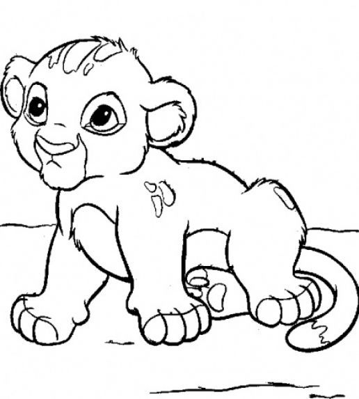 Coloring Book Pages Of Baby Animals Coloring Pages