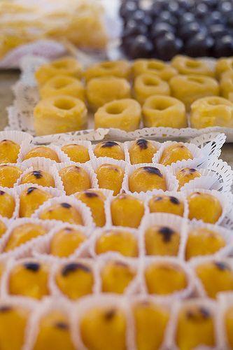 Delicious portuguese cakes
