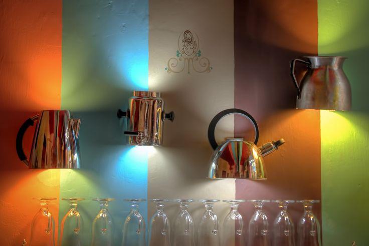 Diseño de luces y detalles de lámparas