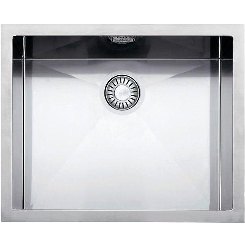 Franke undermount sink-PLANAR-8 PEX 110-45-with integral flow