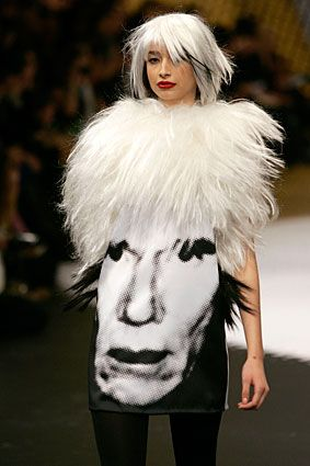 Andy Warhol Dress... jajaja!!! very funny! amazing! (via @kennymilano)