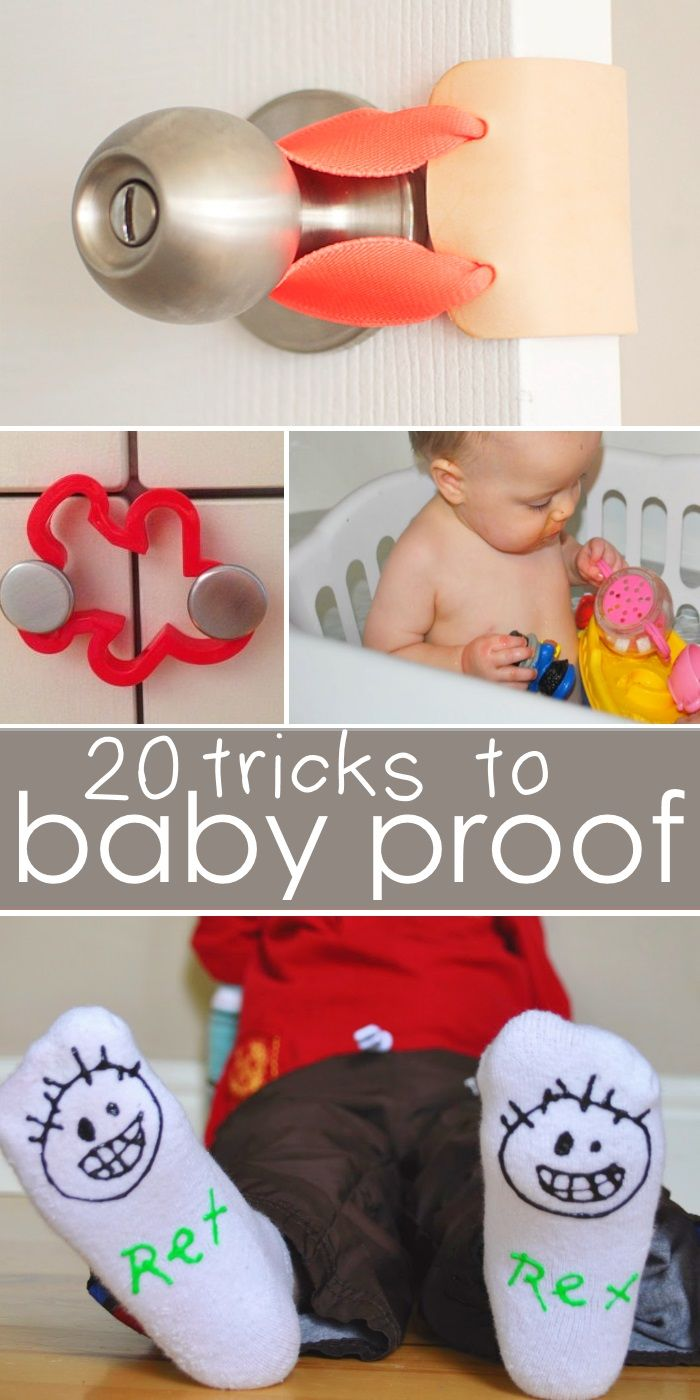 Genius (and CHEAP) Ways to Childproof Your Home                                                                                                                                                                                 More
