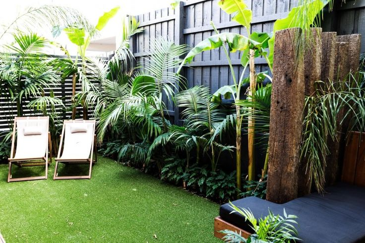 Darren and Dea grass area