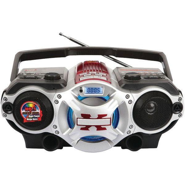 Supersonic sc-1495bt Portable Audio Bluetooth(R) Audio System
