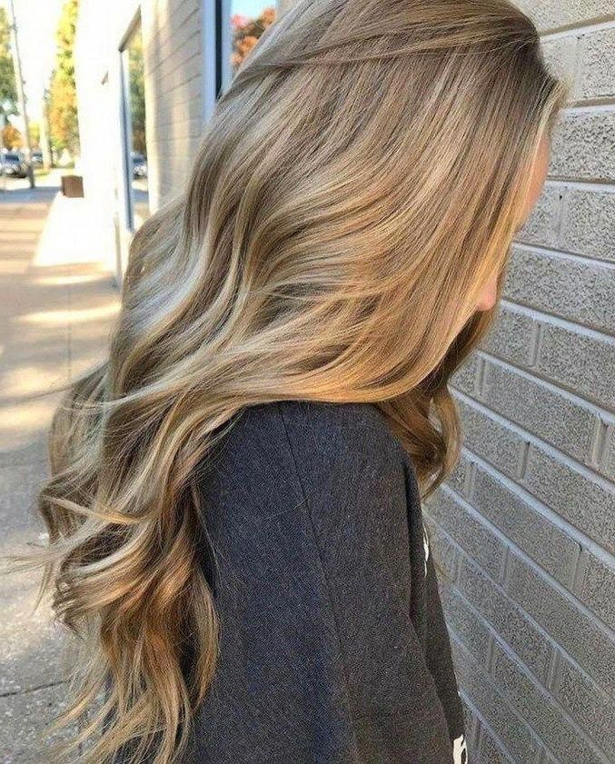 Natural hair color / light brown / #Longhaircolor