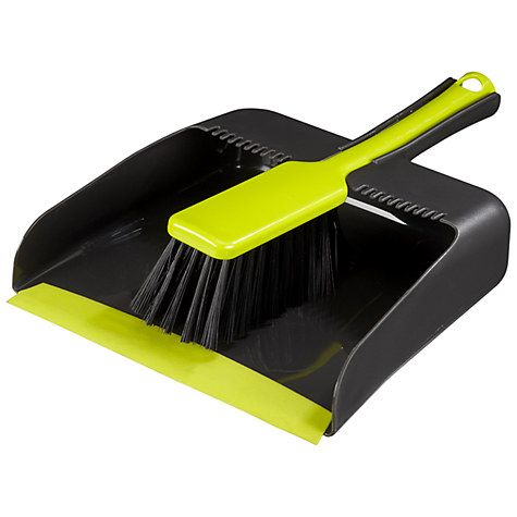 Buy John Lewis Ingenious Square Dustpan and Brush Set Online at johnlewis.com