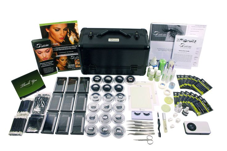 Eyelash Extension Training Kits