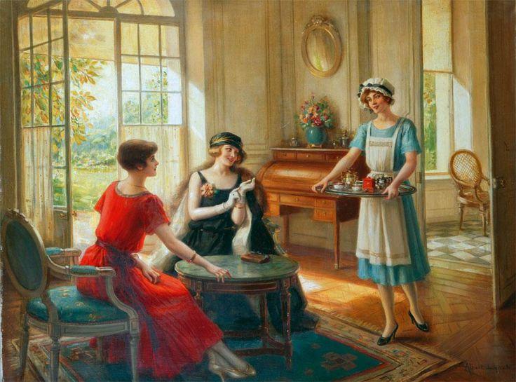 Albert Lynch (Peruvian artist, 1851-1912) The Servant