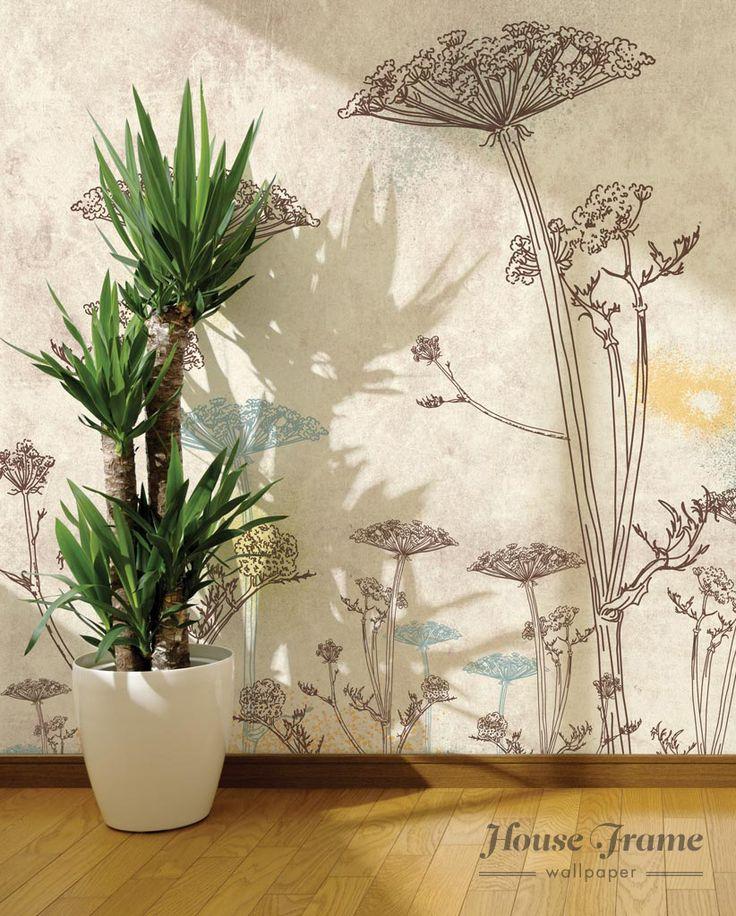 House Frame  HF035 - GIANT FLOWERS