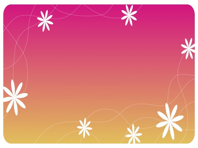 Cute Flowers Design Powerpoint Template Allows You To
