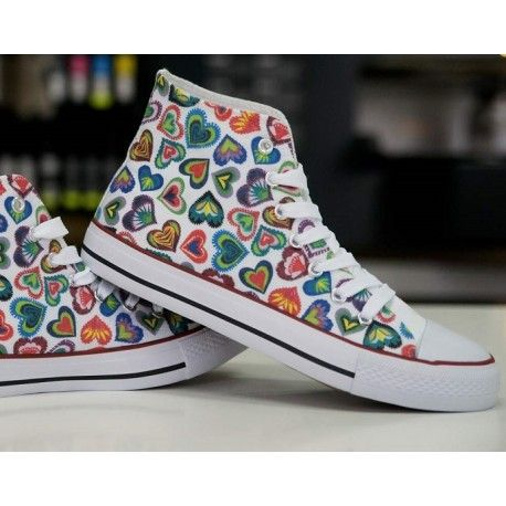 FOLK CUTOUTS. DESIGN YOUR OWN PRINT ON SNEAKERS AT WANNASHOE.COM OR CHOOSE FROM OUR COLLECTION.