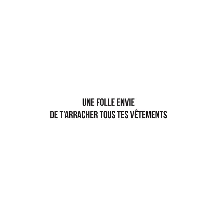 UNE FOLLE ENVIE DE T'ARRACHER TOUS TES VÊTEMENTS - #JaimeLaGrenadine