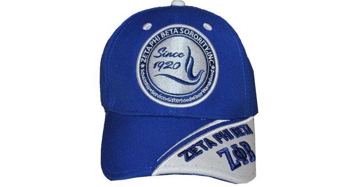 Zeta Phi Beta Sorority New Crest Cap- New!