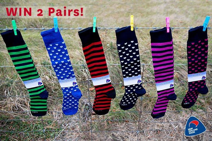 WIN two pairs of adult knee high merino socks from Cosy Toes! With more freezing weather on its way over New Zealand these #NZMade knee high merino socks will keep your toes and legs extra warm. Enter now on our Facebook page: facebook.com/BuyNZMadeCampaign #merino #socks #winter
