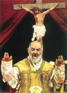 PRAYER FOR SAINT PADRE PIO OF PIETRELCINA INTERCESSION