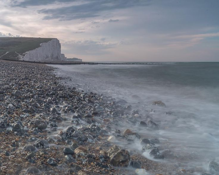 Seven  Sisters Cliffs by Bota Dorin