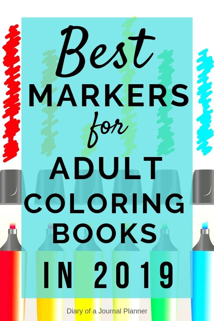 - Best Markers For Coloring Books And Pages (2020) (With Images