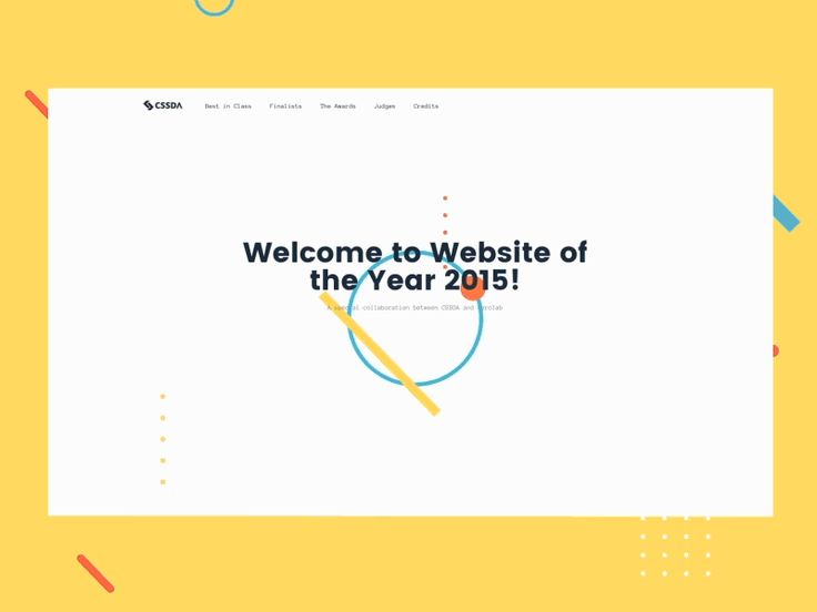 We're happy to share the results of our collaboration with CSSDA for the 2015 CSS Website of Year Award <3   We've worked together with @Mercedes Bazan developing a concept based on