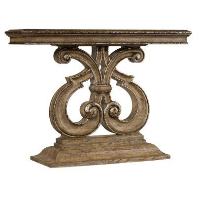 hooker furniture solana console table