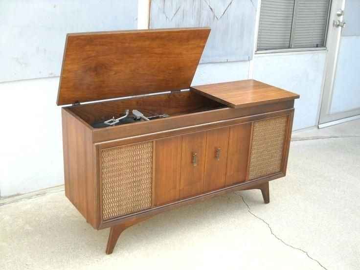ผลการค นหาร ปภาพสำหร บ Record Player Console Vintage Record Player Cabinet Stereo Cabinet Turntable Furniture