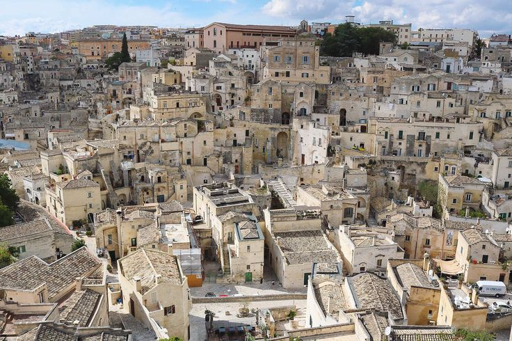 This is the city of Matera in Italy: The third-oldest continually inhabited settlement in the world