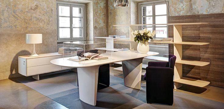 Lederpult Shift by Tecno, Designer Norman Foster