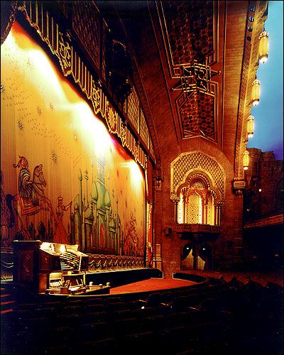 Fox Theatre Organ The expansive stage of Atlanta's 5,000