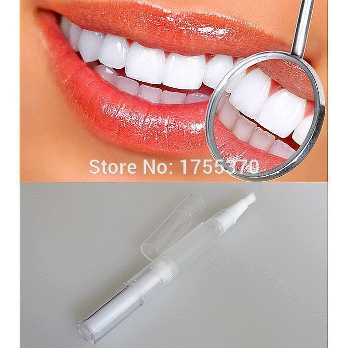 2015 Newest Hotest Creative Effective Transparent White Teeth High Strength Whitening Gel Pen Tooth Whitener Bleach PH Neutral