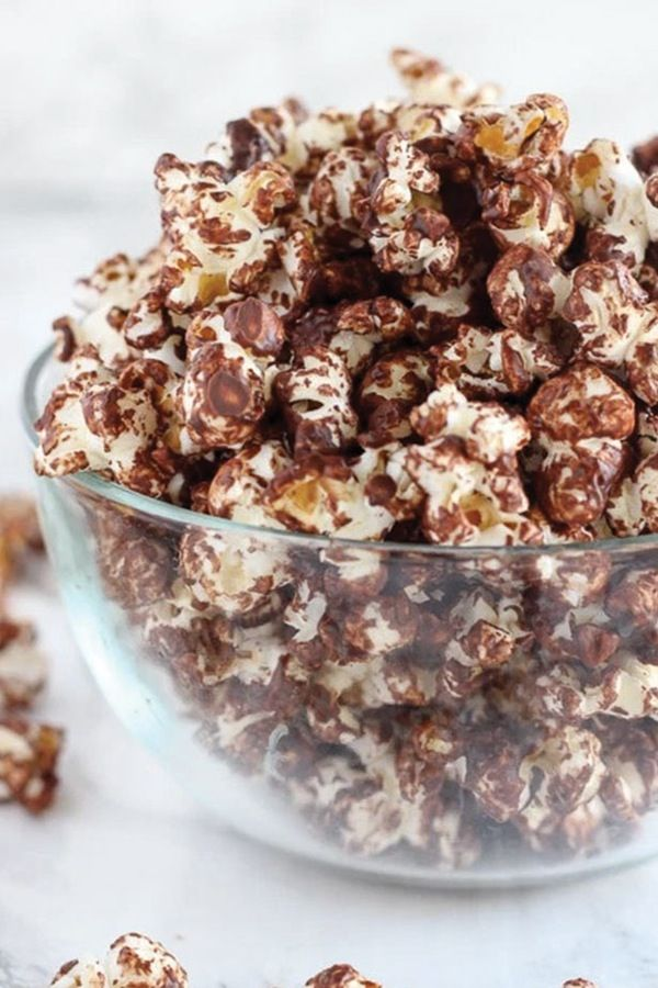 Dark Chocolate Sea Salt Popcorn (Plus 6 More Desserts That Might Help You Lose Weight) @PureWow
