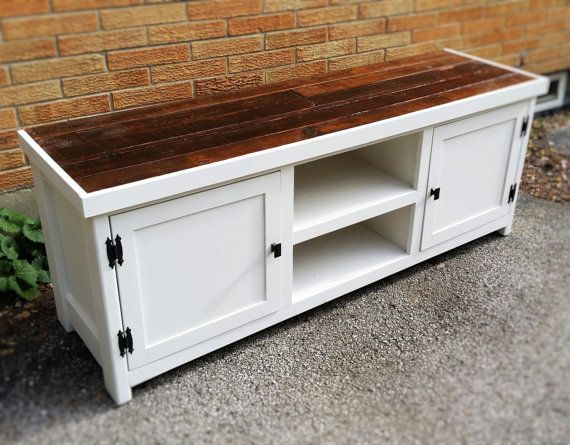 Barnwood, media center, TV stand, media console, entertainment center, rustic media cabinet, TV stand, vintage vanity, white, media stand
