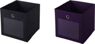Artra Design Ordnungsboxen FABIO Violett Grau 2er SET Aufbewahrungsbox Stoff Aufbewahrungskorb Faltbar Spielzeugkiste Einschubkorb Regalbox Stoffbox Faltbox Regaleinsatz Jetzt bestellen unter: https://moebel.ladendirekt.de/dekoration/aufbewahrung/kaestchen/?uid=a9ba2160-45cd-5cf7-8637-e9fa2ee66dd5&utm_source=pinterest&utm_medium=pin&utm_campaign=boards #heim #aufbewahrung #kaestchen #dekoration