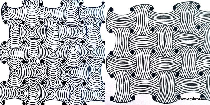 Zentangle – Funls