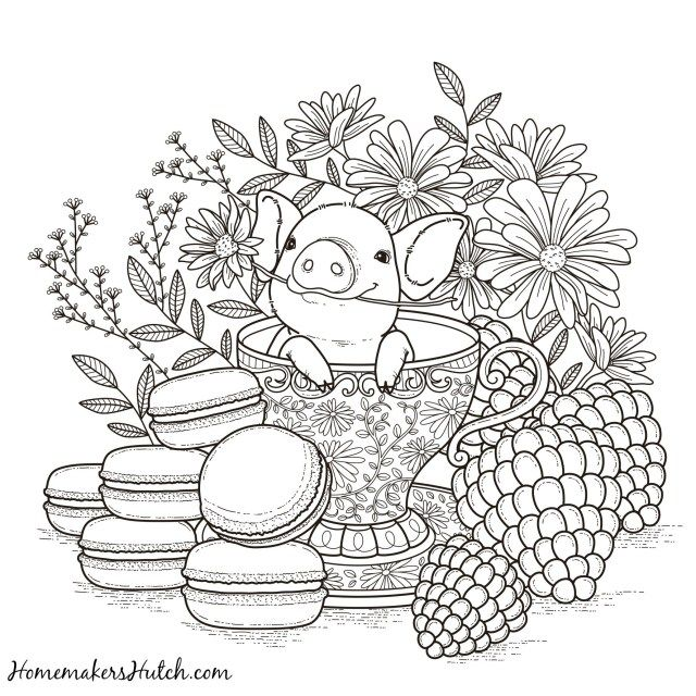 21 Brilliant Picture Of Pig Coloring Pages Entitlementtrap Com Animal Coloring Pages Coloring Books Coloring Pages