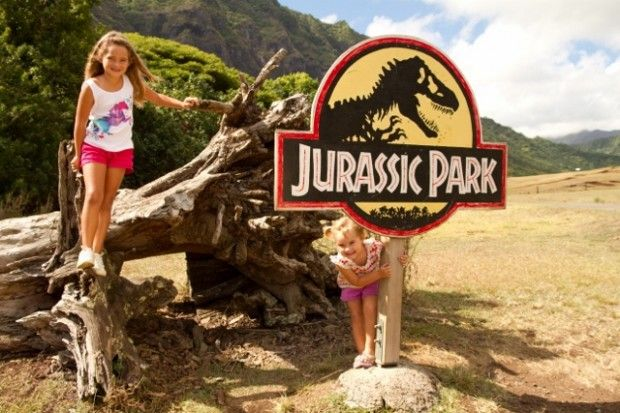 OAHU - Kualoa Ranch - Movie Tour - I hour tour $23